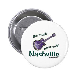 Nashville Guitar 2 Inch Round Button