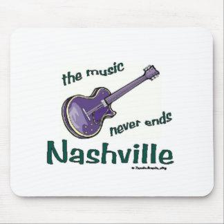 Nashville Guitar Mouse Pad