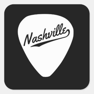 Nashville Guitar Pick Sticker