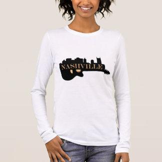 Nashville Guitar Skyline Long Sleeve T-Shirt