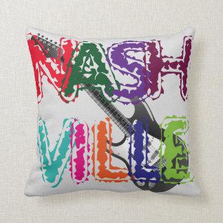 Nashville/Guitar - Throw Pillow