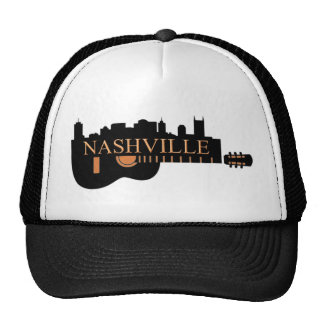Nashville Guitar Trucker Hat