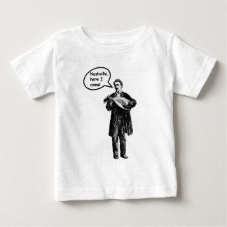Nashville, Here I Come! (Mandolin) Baby T-Shirt