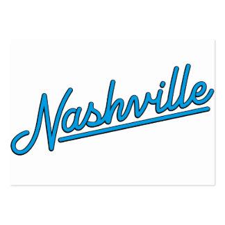 Nashville in Cyan Business Card