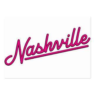 Nashville in Magenta Business Cards