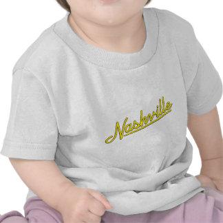 Nashville in Yellow Tee Shirt