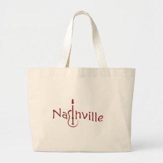 nashville large tote bag