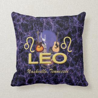 """Nashville Leo Throw Pillow 16"""" x 16"""""""