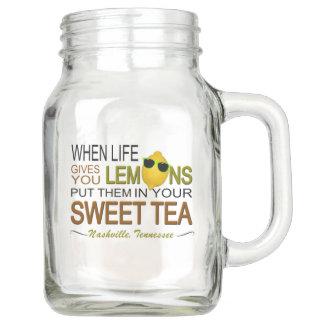 Nashville Life Gives You Lemons Mason Jar (20 oz)