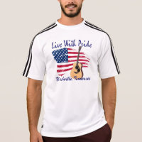 Nashville Live With Pride Adidas ClimaLite® TShirt