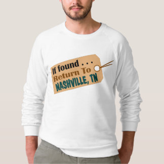 Nashville Lost & Found American Apparel Sweatshirt