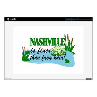 Nashville más fina que pieles del ordenador 38,1cm portátil calcomanías