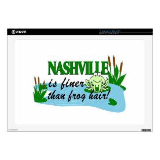 Nashville más fina que pieles del ordenador portátil skins