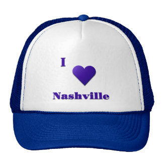 Nashville -- Midnight Blue Trucker Hat
