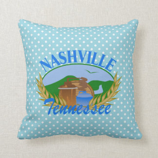 "Nashville Moonshine Still Throw Pillow 16"" x 16"""