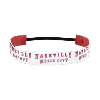 Nashville Music City2 Athletic Headband