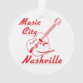 Nashville. Music city Ornament