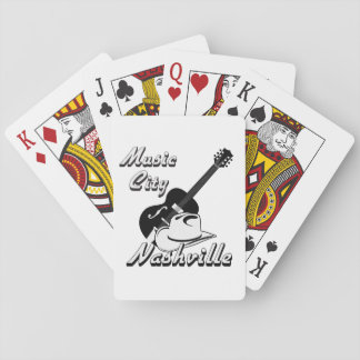 Nashville. Music city Playing Cards
