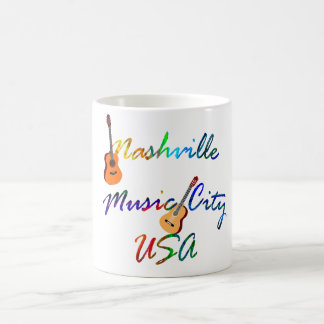 Nashville - Music City USA Coffee Mug