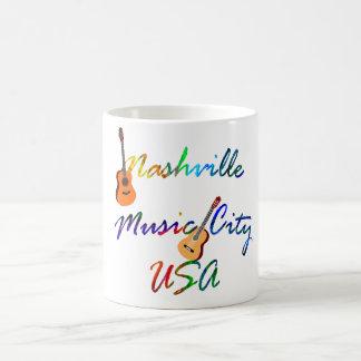 Nashville - Music City USA Coffee Mug