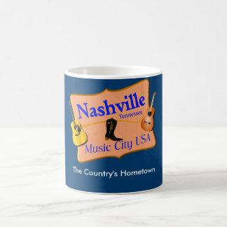 Nashville Music City USA - Coffee Mug