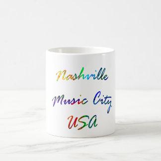 Nashville Music City USA Coffee Mug