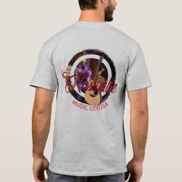 USA Themed Nashville Music City USA Men's Shirts