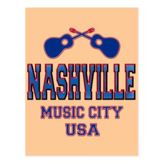 Nashville, Music City USA Post Cards