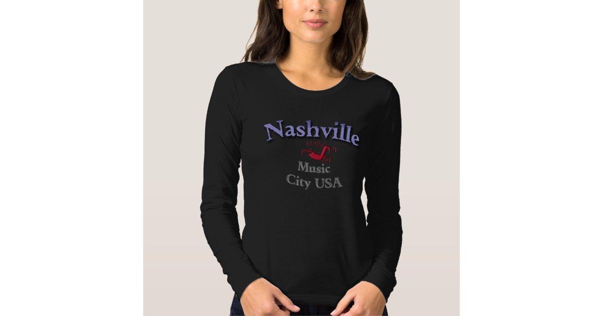 Nashville music city usa t shirt zazzle for Nashville t shirt printing