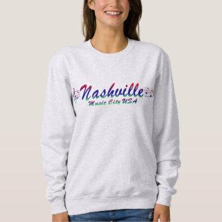Nashville Music City USA Women's Basic Sweatshirt