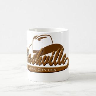 Nashville Music City White 11 oz Classic White Mug