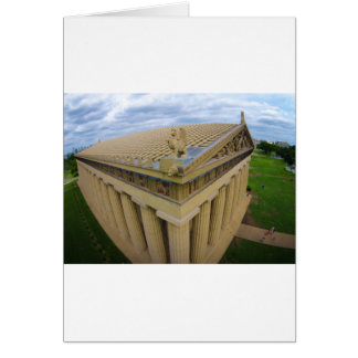 Nashville Parthenon Card