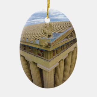 Nashville Parthenon Ceramic Ornament