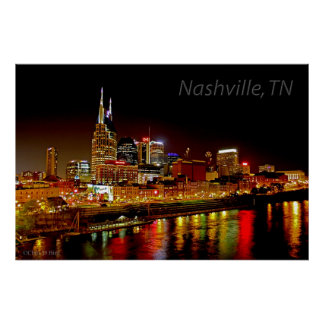 Nashville, poster del horizonte del TN