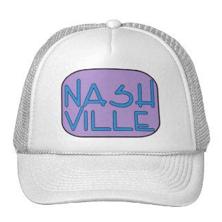 Nashville Purple Trucker Hat
