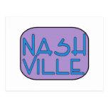 Nashville Purple Postcard