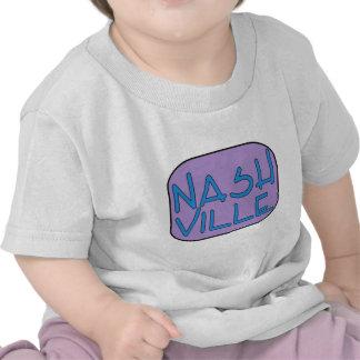 Nashville Purple Tee Shirts