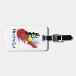 Nashville Rhythm Bag Tag
