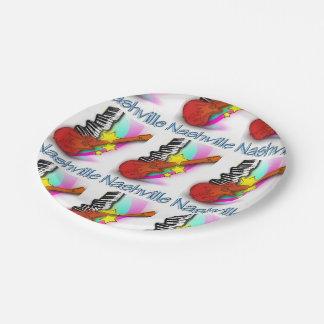 Nashville Rhythm Paper Plate