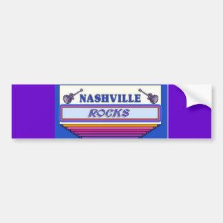 Nashville Rocks 2 Car Bumper Sticker