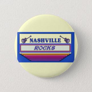 Nashville Rocks 2 Pinback Button