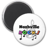 Nashville Rocks Fridge Magnet