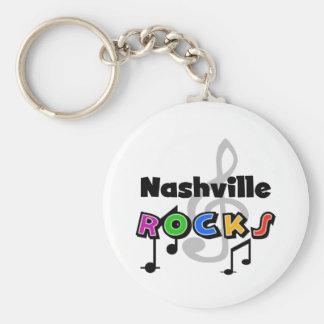Nashville Rocks Keychain