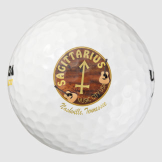 Nashville Sagittarius Wilson Ultra 500 Golf Ball