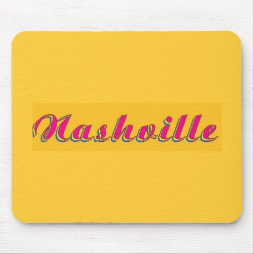 Nashville Script Mouse Pad