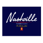 Nashville Script Postcard