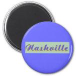 Nashville Script Refrigerator Magnet