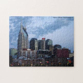 Nashville Skyline Early Morning Jigsaw Puzzle