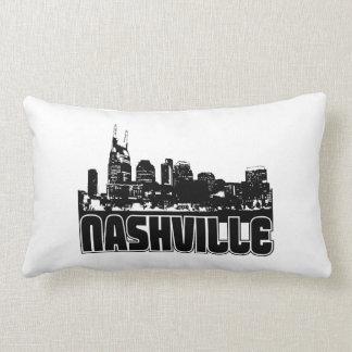 Nashville Skyline Lumbar Pillow