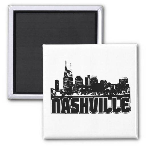 Nashville Skyline Magnet